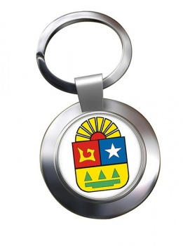 Quintana Roo (Mexico) Metal Key Ring