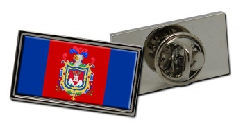 Quito Flag Pin Badge
