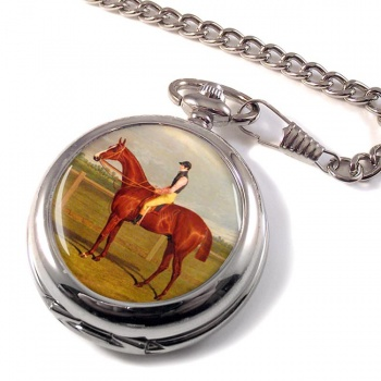 Racehorse by Herring Pocket Watch