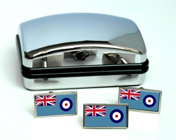 Bedfordshire Flag Cufflinks & Tie Pin Set
