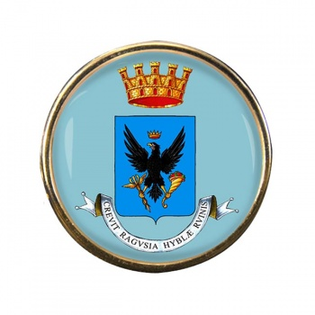 Ragusa (Italy) Round Pin Badge