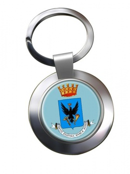Ragusa (Italy) Metal Key Ring
