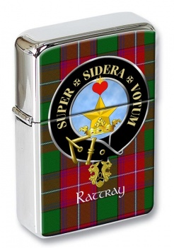 Rattray Scottish Clan Flip Top Lighter