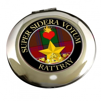 Rattray Scottish Clan Chrome Mirror