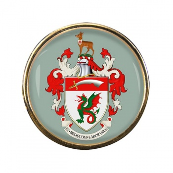 Rayleigh (England) Round Pin Badge