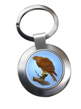 Red Kite Metal Key Ring