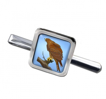 Red Kite  Square Tie Clip