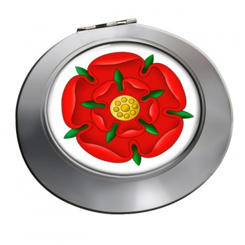 Red Rose of Lancaster Chrome Mirror