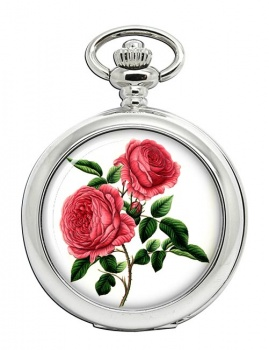Roses Pocket Watch
