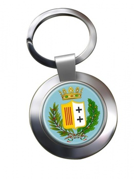 Reggio Calabria (Italy) Metal Key Ring