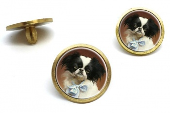 Japanese Chin by Carl Reichert  Golf Ball Marker Set