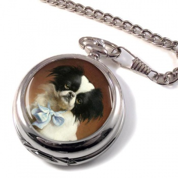 Japanese Chin by Carl Reichert Pocket Watch