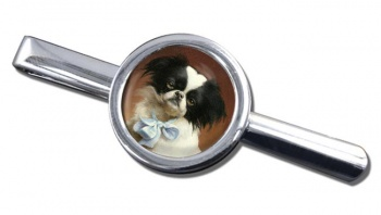 Japanese Chin by Carl Reichert Tie Clip