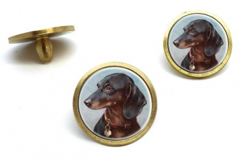 Dachshund by Carl Reichert  Golf Ball Marker Set