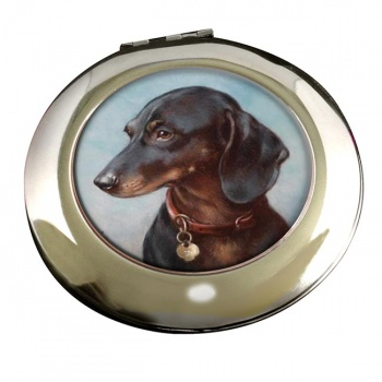 Dachshund by Carl Reichert Mirror