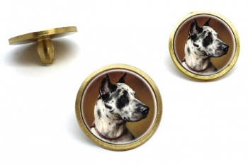 Deutsche Dogge by Carl Reichert  Golf Ball Marker Set