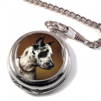Deutsche Dogge by Carl Reichert Pocket Watch