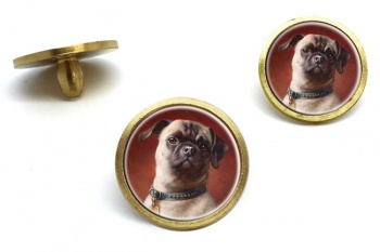 The Pug Dog  by Carl Reichert  Golf Ball Marker Set
