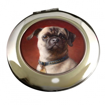 The Pug Dog by Carl Reichert Mirror