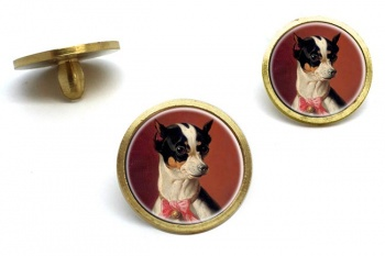 Toy Pinscher by Carl Reichert  Golf Ball Marker Set