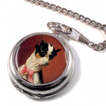 Toy Pinscher by Carl Reichert Pocket Watch
