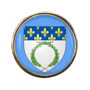 Reims (France) Round Pin Badge