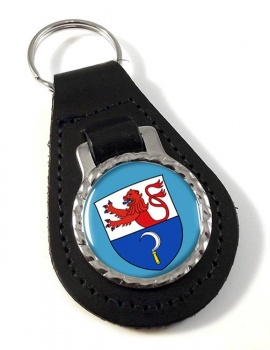 Remscheid (Germany) Leather Key Fob