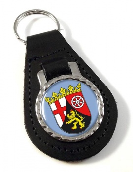 Rheinland (Germany) Leather Key Fob