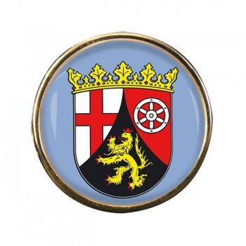 Rheinland (Germany) Round Pin Badge