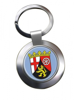 Rheinland (Germany) Metal Key Ring