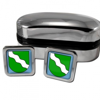 Rheinland Germany Square Cufflinks