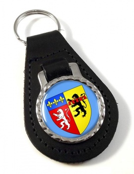 Rhone (France) Leather Key Fob