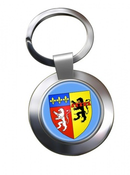 Rhone (France) Metal Key Ring