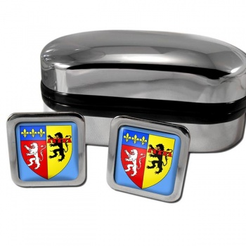 Rhone France Square Cufflinks