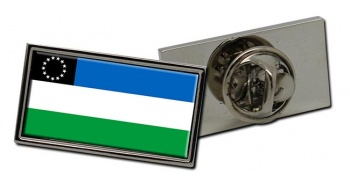 Argentine Rio Negro Flag Pin Badge