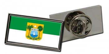 Rio Grande do Norte (Brasil) Flag Pin Badge