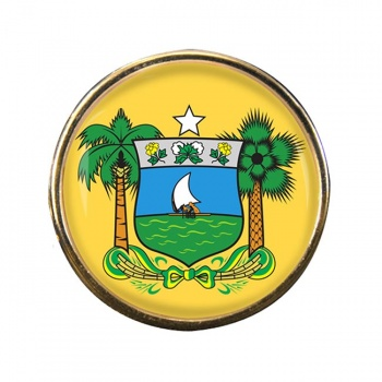 Rio Grande do Norte (Brasil) Round Pin Badge