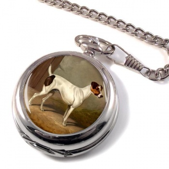 Jack Russell by Colin Graeme Roe Pocket Watch