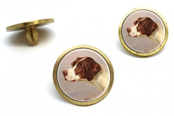 A Pointer by by Colin Graeme Roe  Golf Ball Marker Set