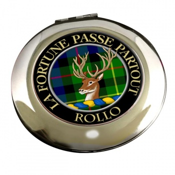 Rollo Scottish Clan Chrome Mirror