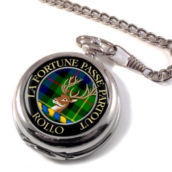 Rollo Scottish Clan Pocket Watch