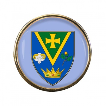 County Roscommon (Ireland) Round Pin Badge