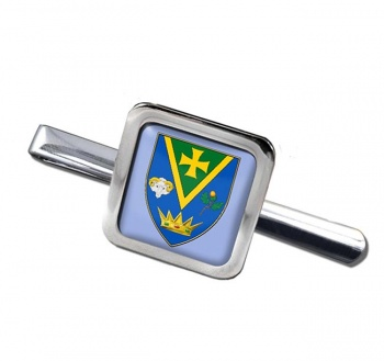 County Roscommon (Ireland) Square Tie Clip