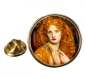Helen of Troy by Rossetti Pin Badge