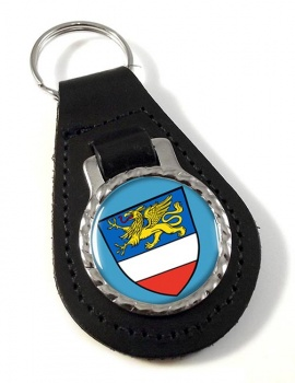 Rostock (Germany) Leather Key Fob
