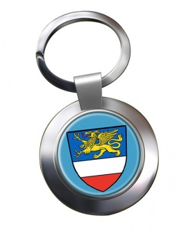 Rostock (Germany) Metal Key Ring