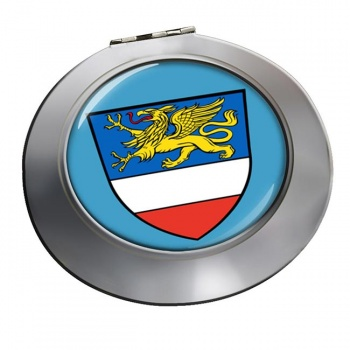 Rostock (Germany) Round Mirror