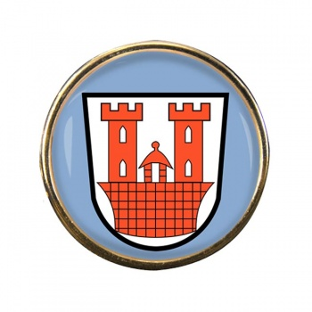 Rothenburg ob der Tauber (Germany) Round Pin Badge