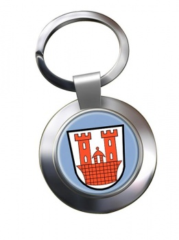 Rothenburg ob der Tauber (Germany) Metal Key Ring