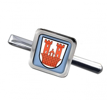 Rothenburg ob der Tauber (Germany) Square Tie Clip